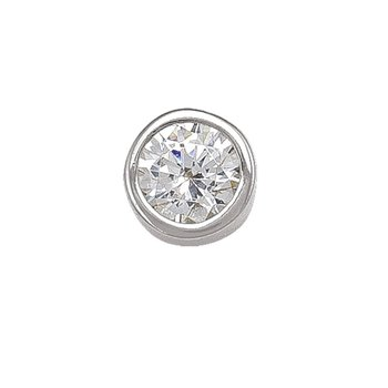 4 mm Bezel Stud Earrings
