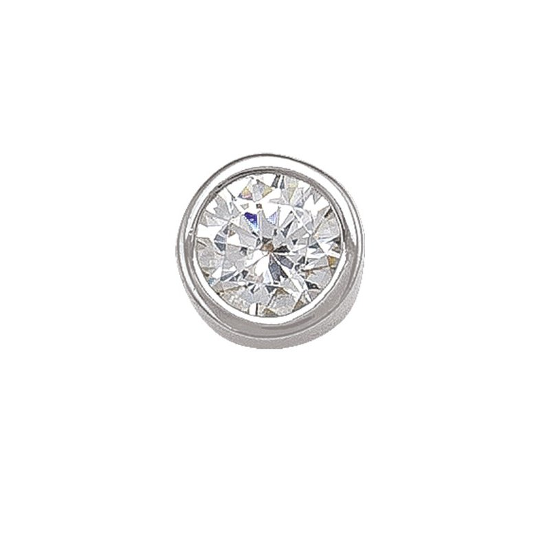 The Collection 4 mm Bezel Stud Earrings