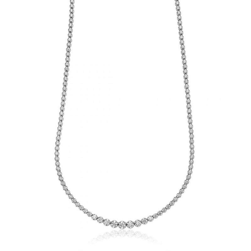 RNB Bijoux Jewellery Diamond Tennis Necklace