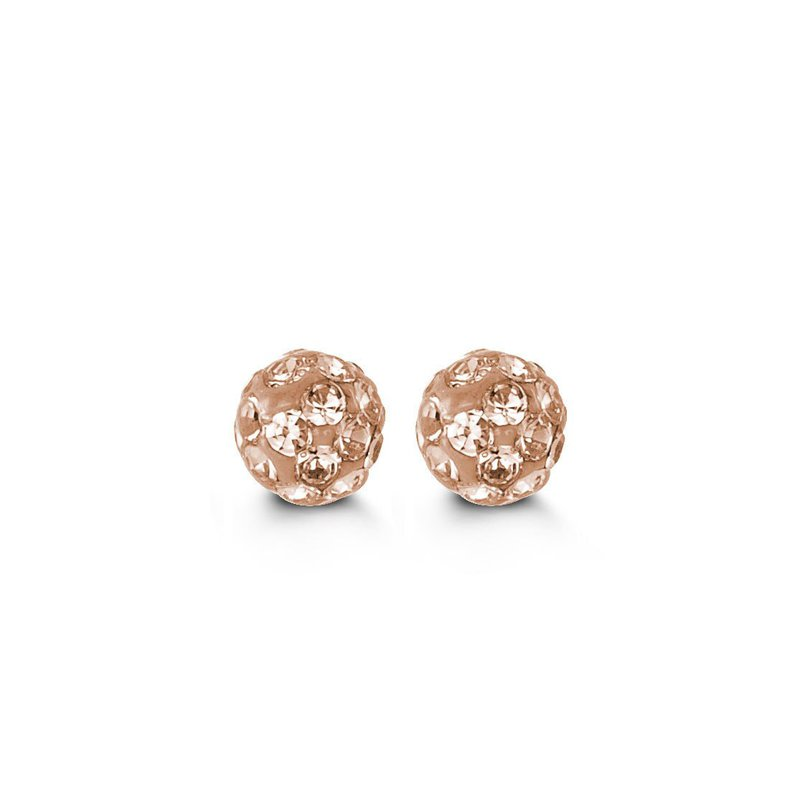 The  Collection Baby Diamond Cut Studs