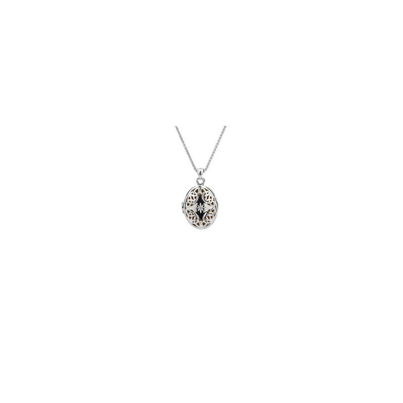Keith Jack Trinity Diamond Necklace