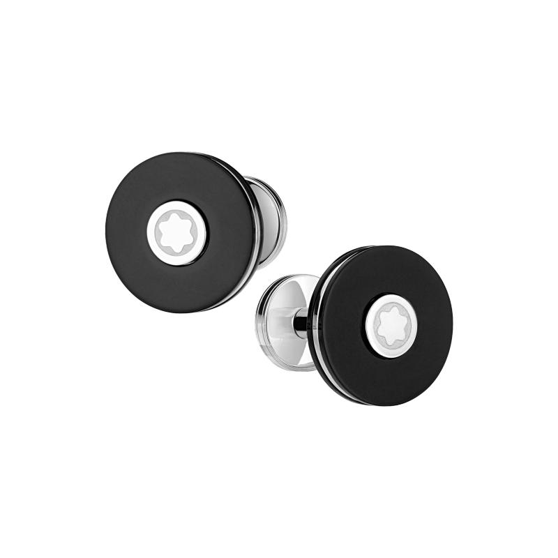 Montblanc Pix Stainless Steel Cuff Links