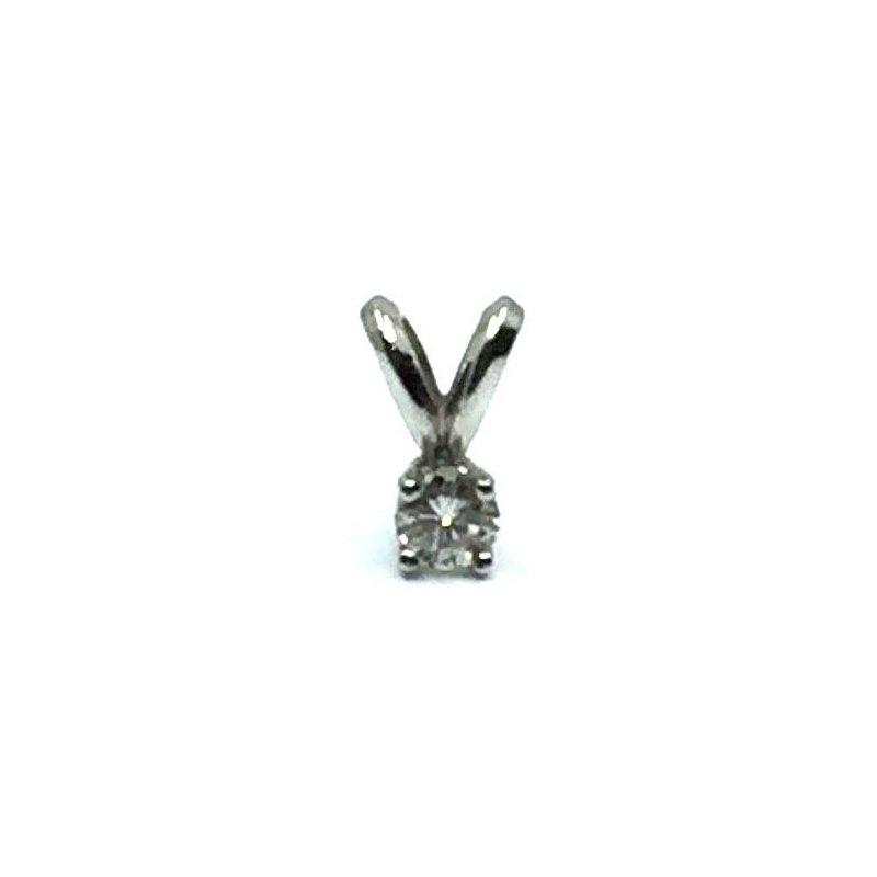 The Collection Diamond Solitaire Pendant