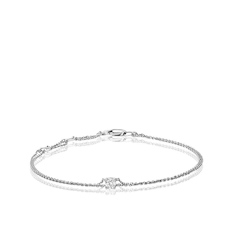 RNB Bijoux Jewellery Solitaire Diamond Bracelet