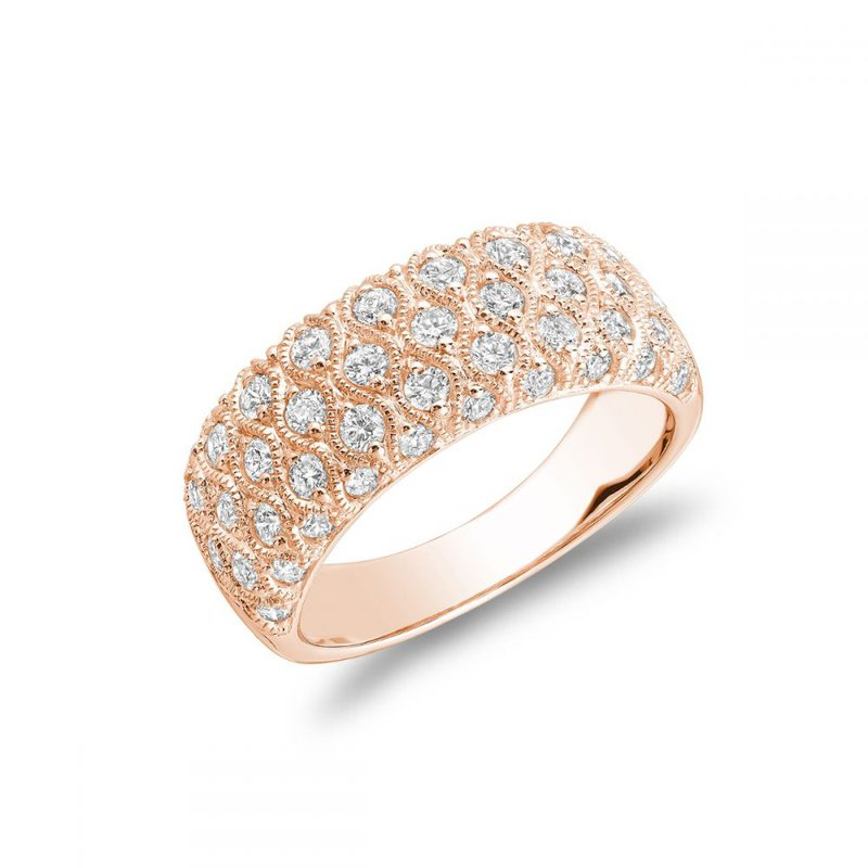 RNB Bijoux Jewellery Three Row Fashion Ring