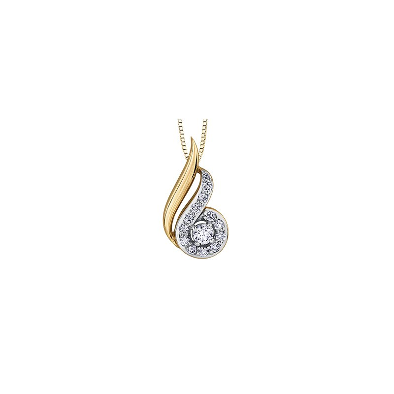 The Collection Diamond Pendant