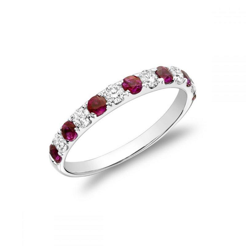 RNB Bijoux Jewellery Pavé Ruby & Diamond Ring
