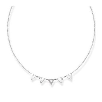 "Diamond Necklace ""Triangle"""