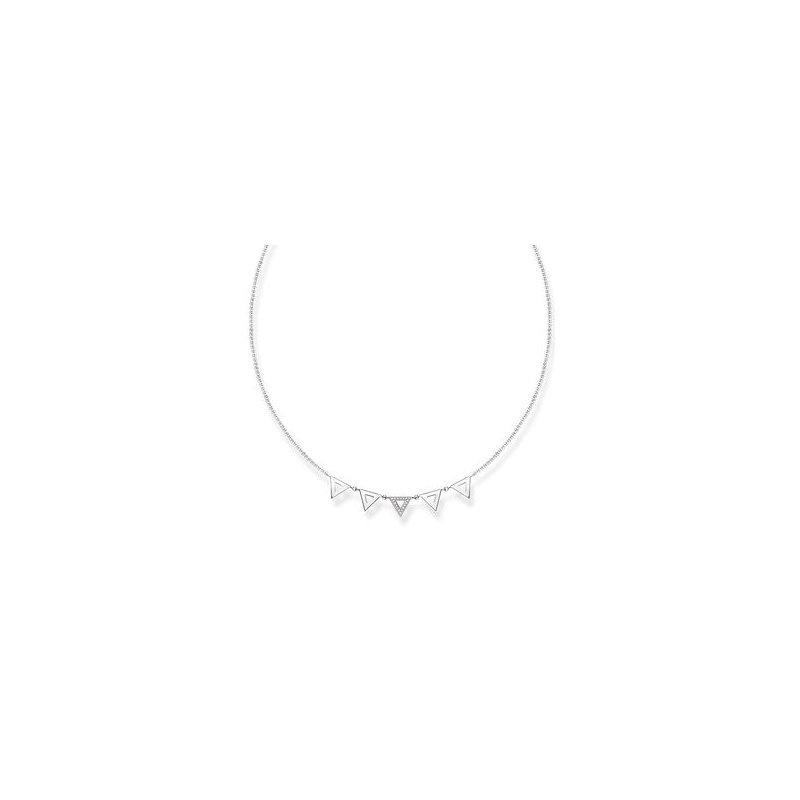 """Thomas Sabo Diamond Necklace """"Triangle"""""""