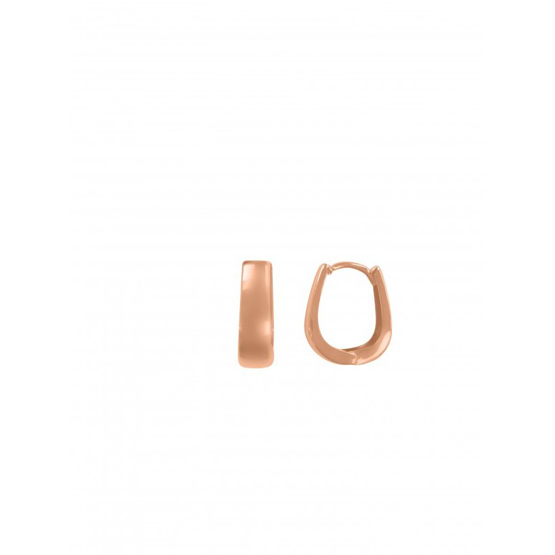 The  Collection Oval Huggie Earring
