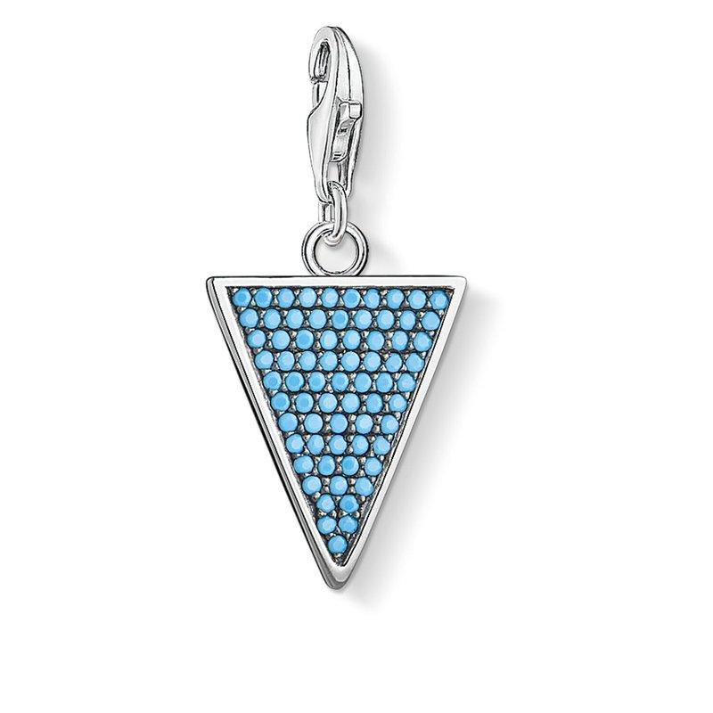 Thomas Sabo Charm Pendant Triangle Turquoise