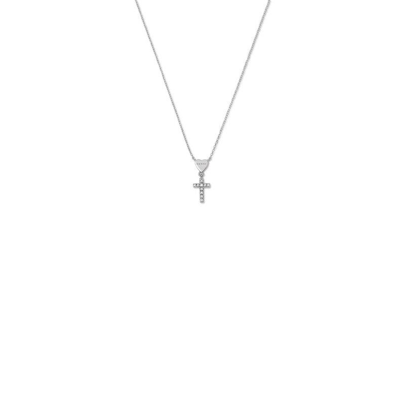 Gucci Jewellery Gucci Trademark Diamond Cross