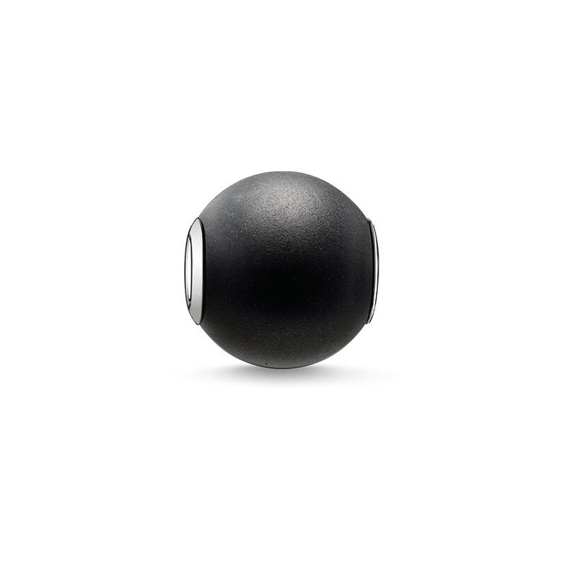 Thomas Sabo Obsidian Black Bead