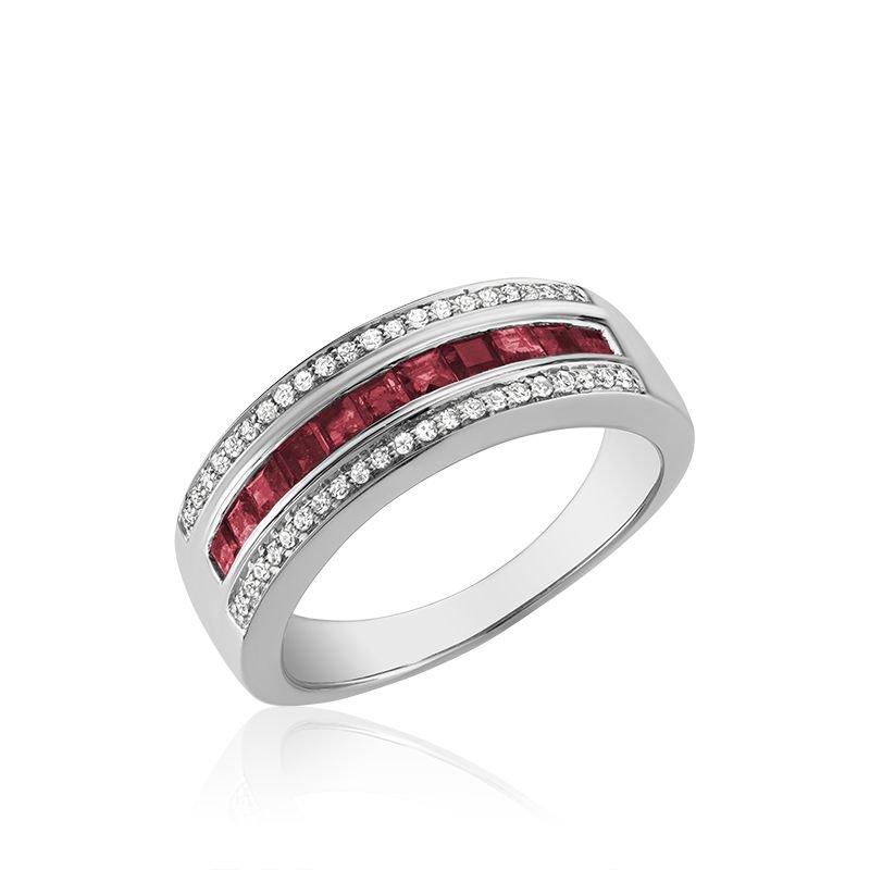 RNB Bijoux Jewellery Ruby & Diamond Ring