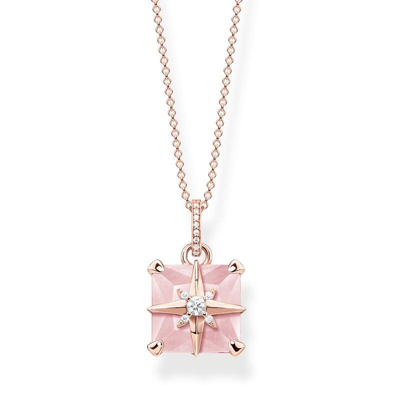 Thomas Sabo Pendant Pink Star