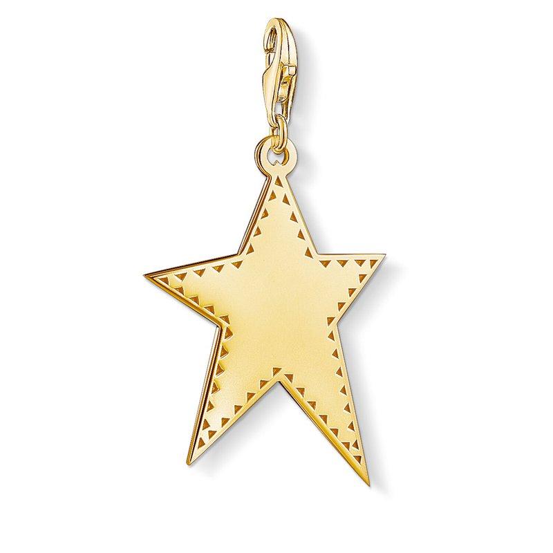 Thomas Sabo Charm Pendant Golden Star