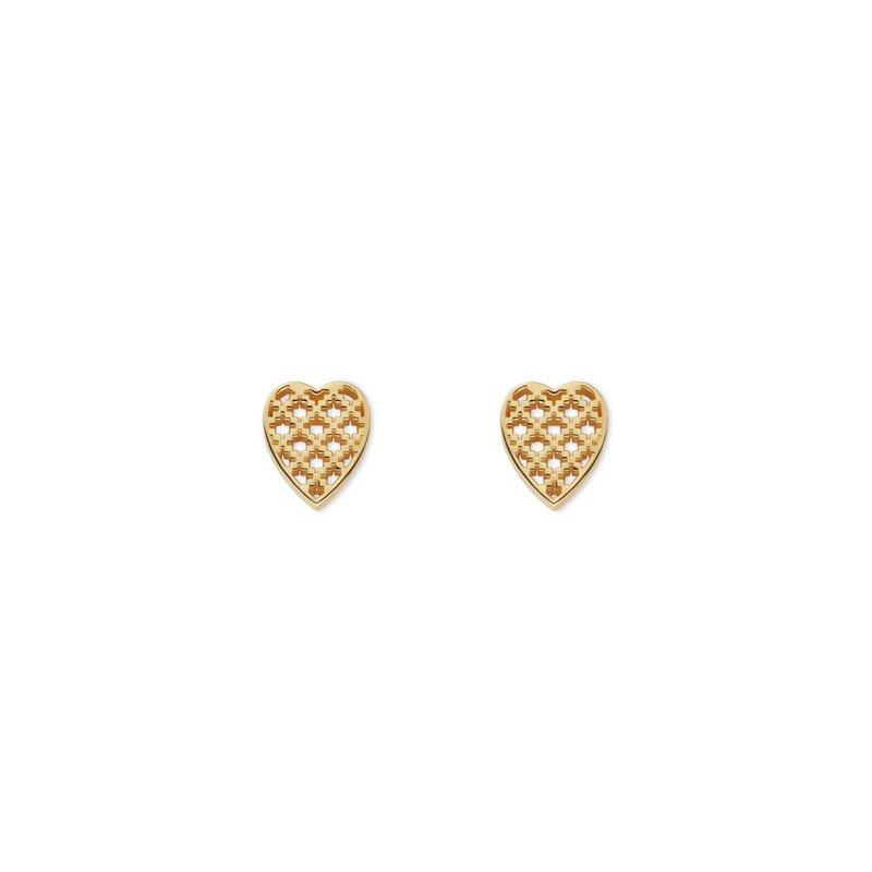 Gucci Jewellery Diamantissima Heart Earrings