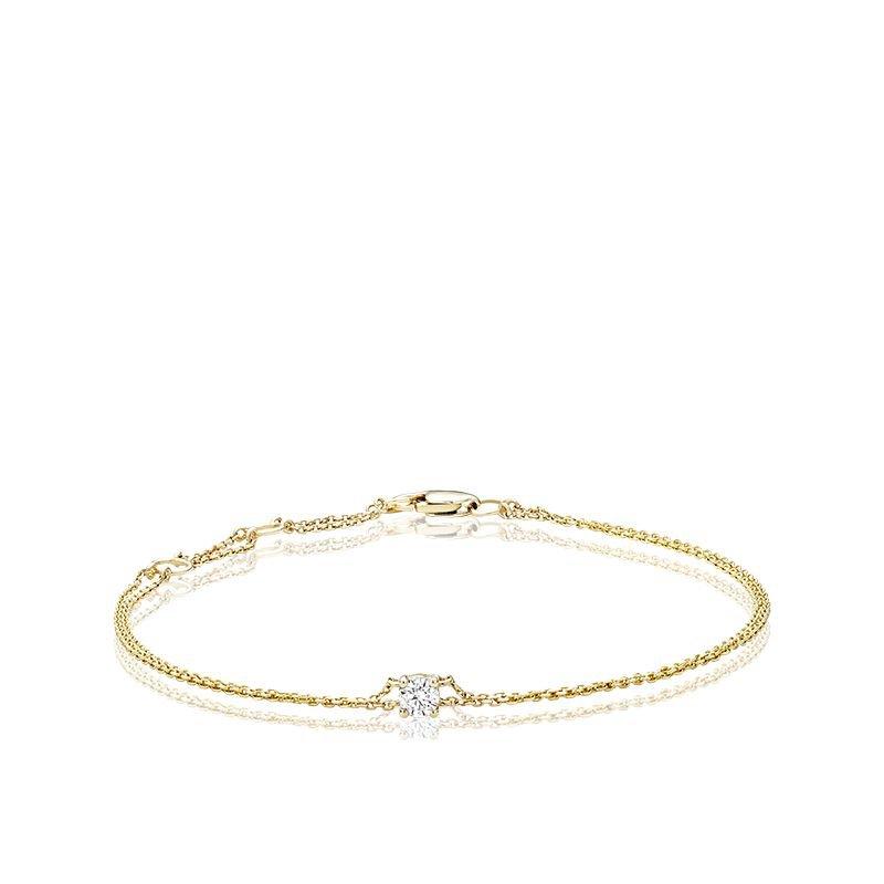 RNB Bijoux Jewellery Solitaire Diamond Bracelet