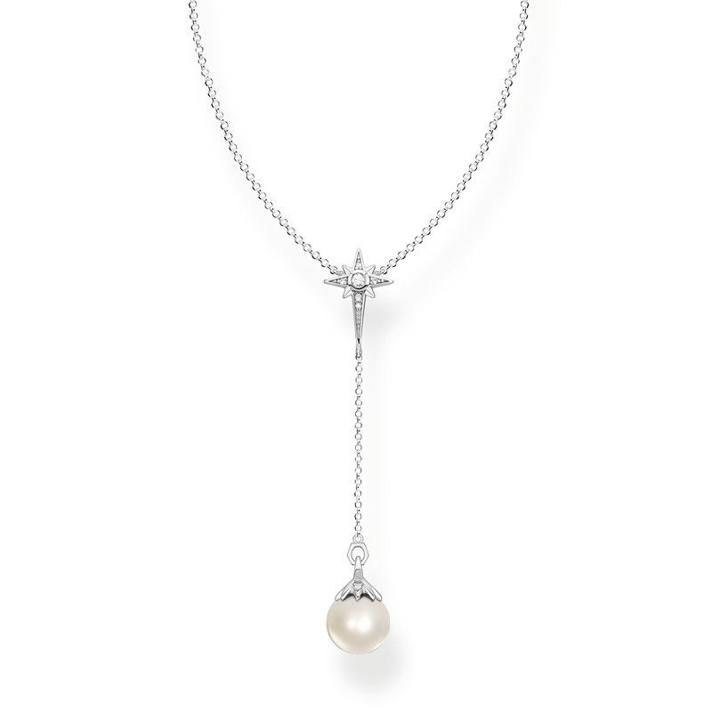 Thomas Sabo Pearl Star Necklace