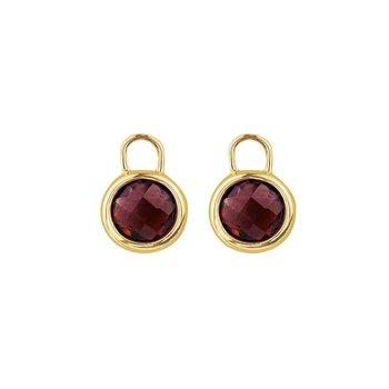 Garnet Earring Enhancers