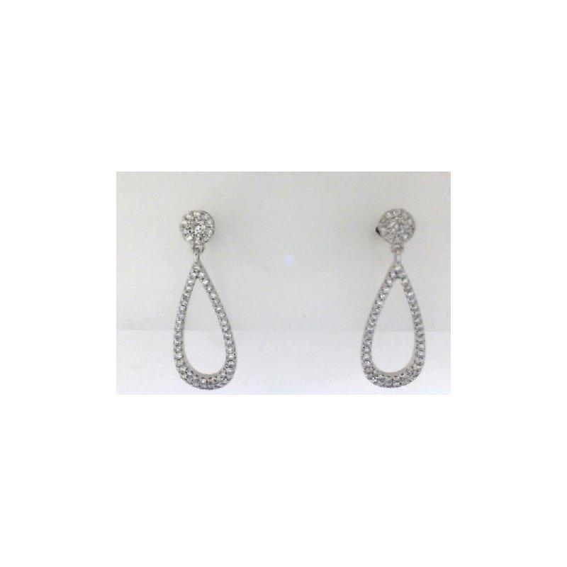 RNB Bijoux Jewellery Diamond Drop Earrings