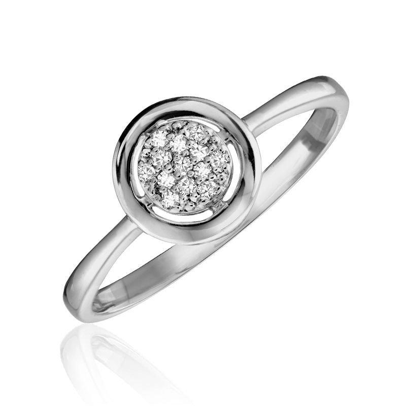 RNB Bijoux Jewellery Circle Fashion Diamond Ring