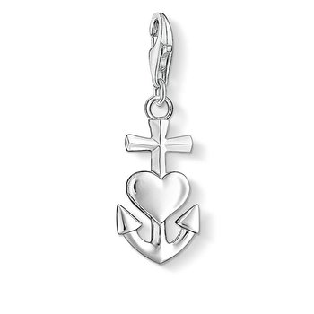 Charm Pendant Cross, Heart And Anchor