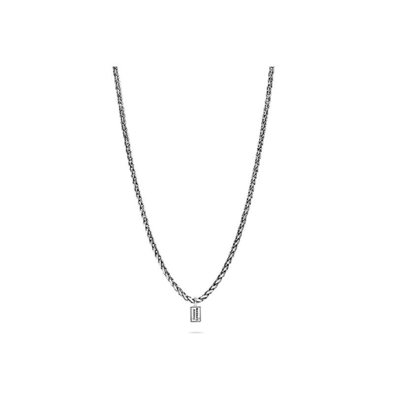 Buddha to Buddha Sterling Silver Necklace