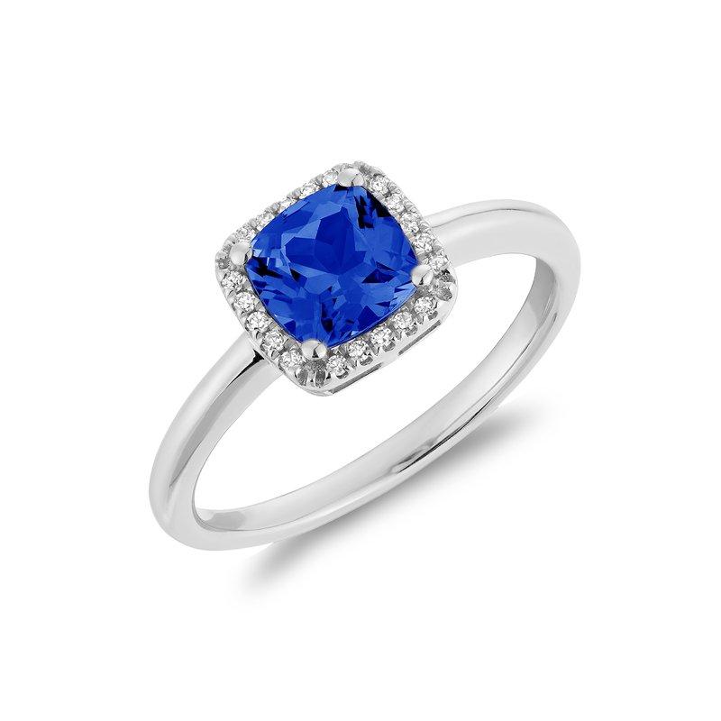 RNB Bijoux Jewellery Created Sapphire And Diamond Ring