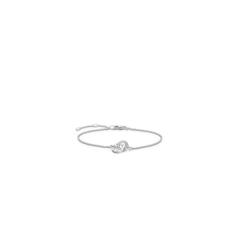 "Thomas Sabo Silver Diamond bracelet ""Together Forever"""
