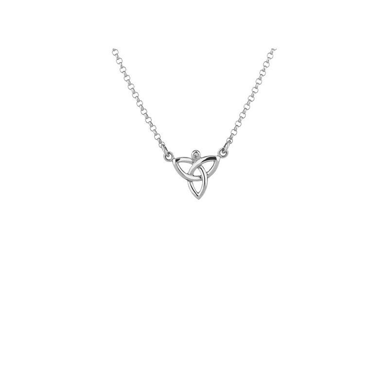 Keith Jack Diamond Trinity Necklace