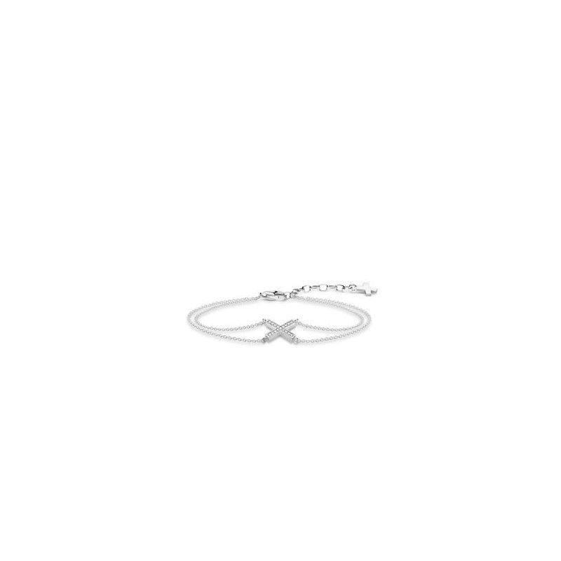 Thomas Sabo Sterling Silver CZ Bracelet