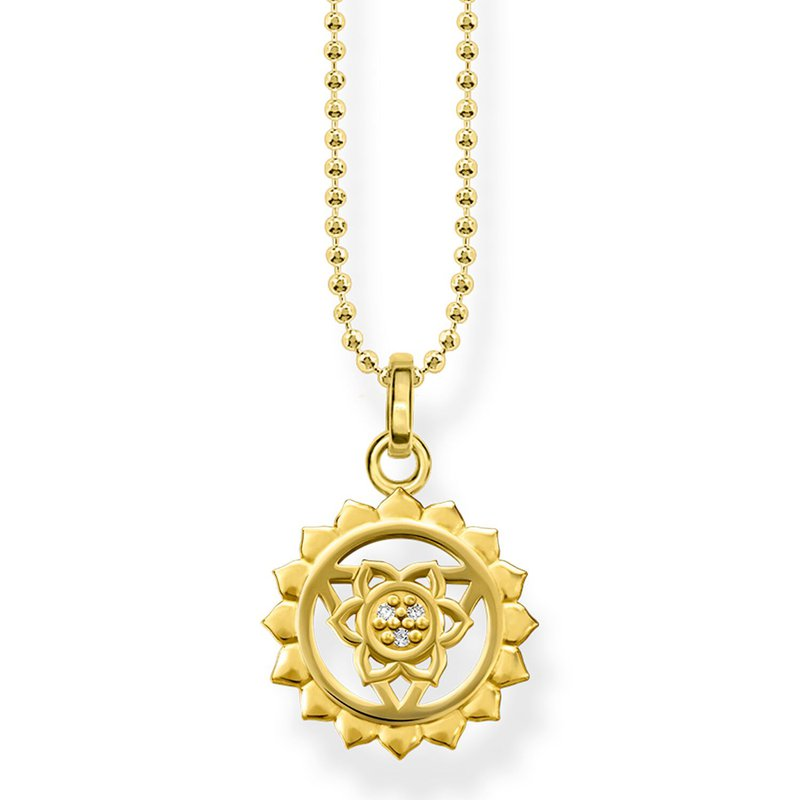 Thomas Sabo Gold Plate Necklace