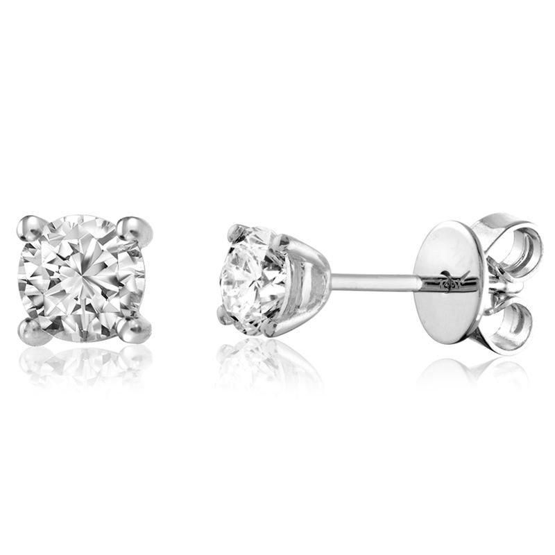 RNB Bijoux Jewellery Diamond Stud Earrings