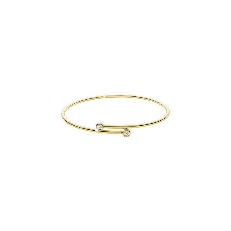 RNB Bijoux Jewellery Diamond Hoop Bangle