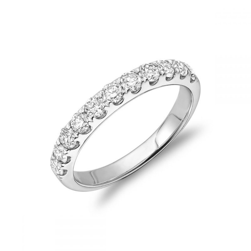 RNB Bijoux Jewellery Semi Eternity Diamond Band