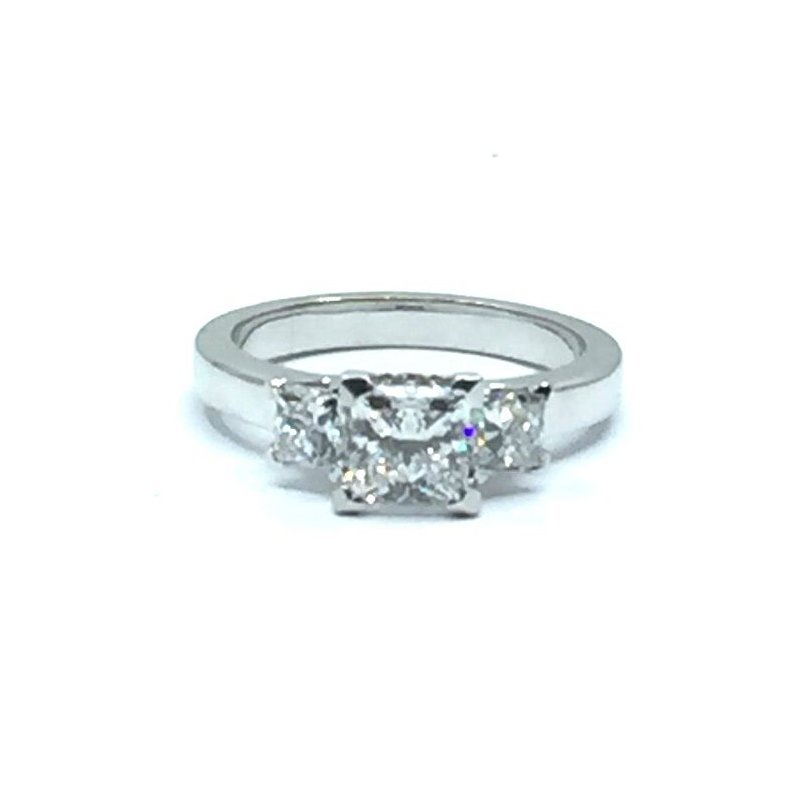 The Collection Princess Cut Diamond Engagement Ring