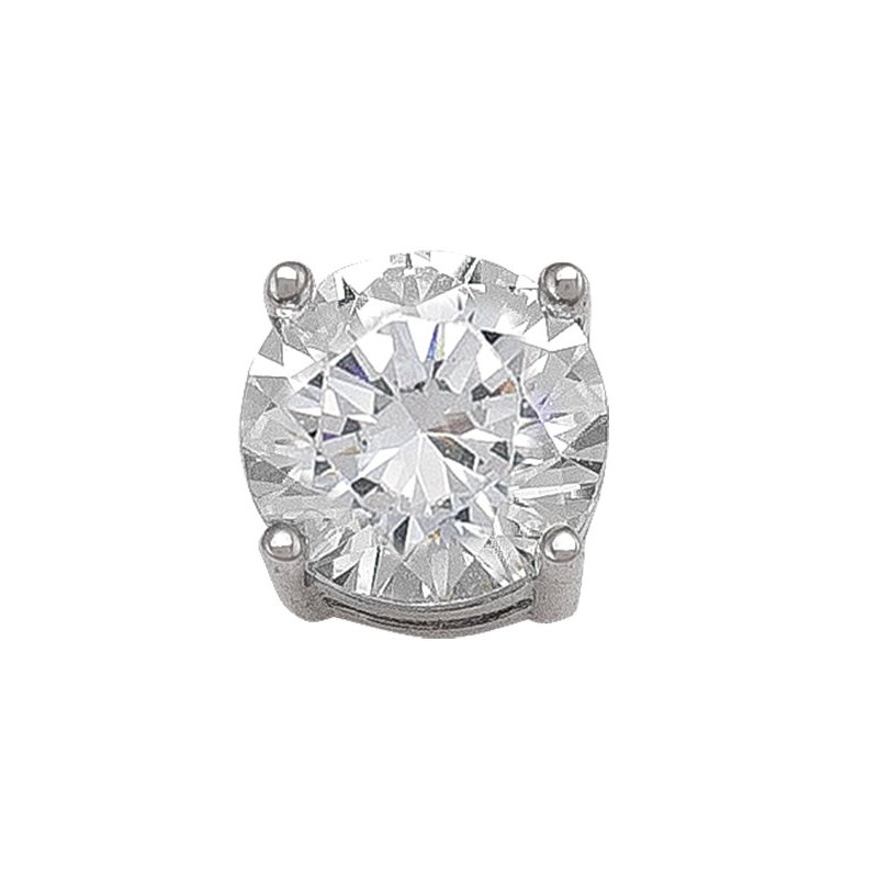 The  Collection 7 mm Cz Stud Earring
