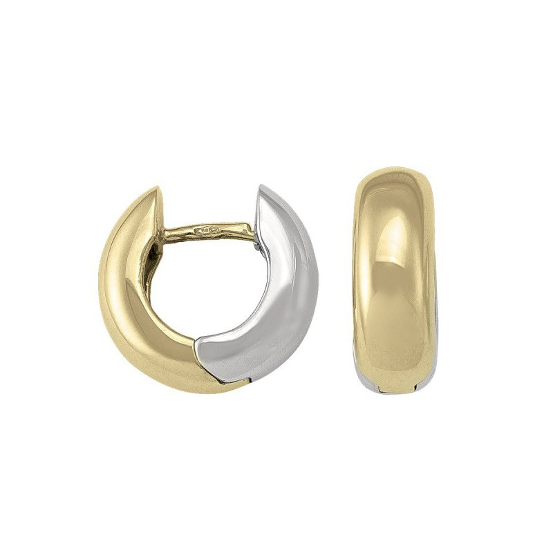 The Collection Reversible Huggie Earrings