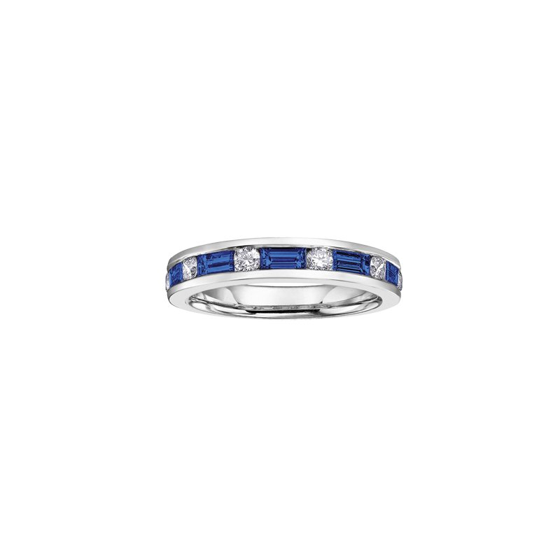 The  Collection Sapphire and Diamond Ring