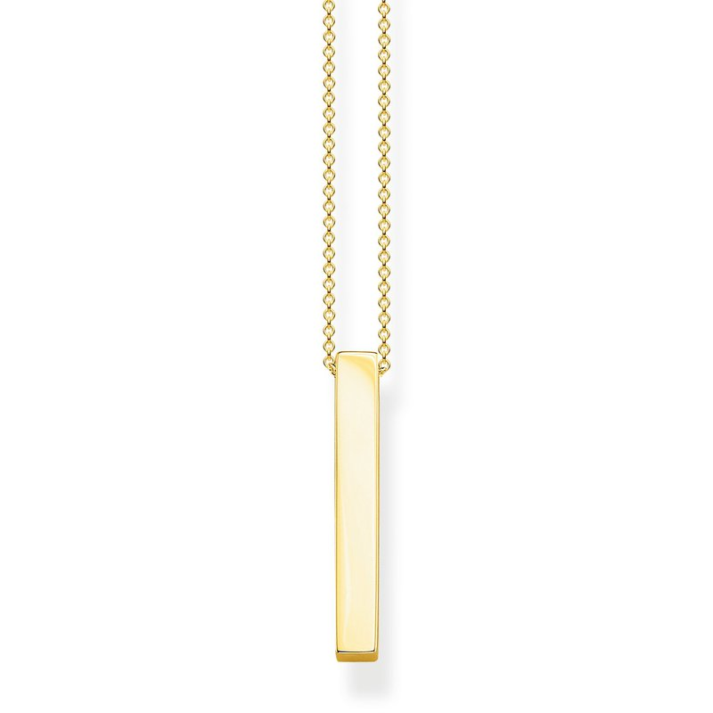 Thomas Sabo Cuboid Necklace