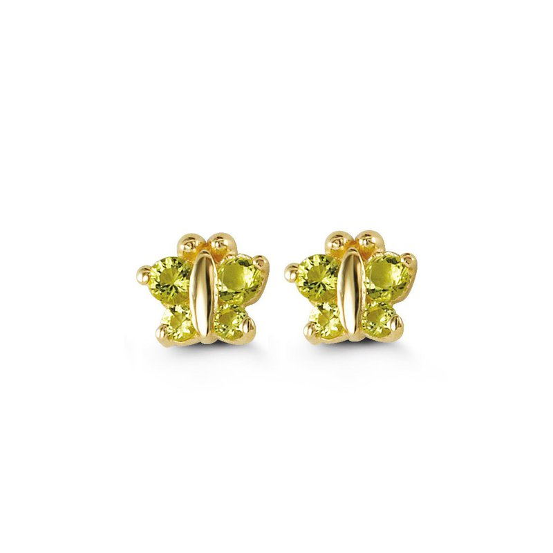 The  Collection Baby Butterfly Stud Earrings