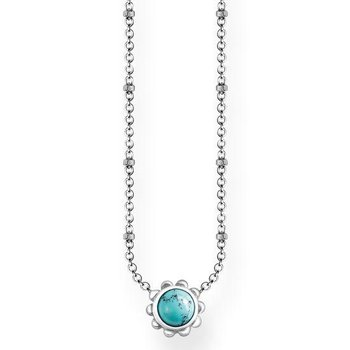 Simulated Turquoise Necklace