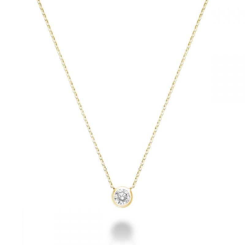 RNB Bijoux Jewellery Bezel Solitaire Pendant