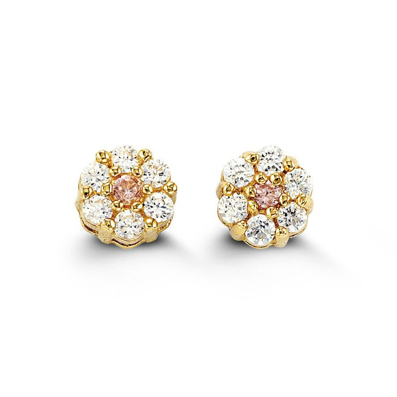 The  Collection Baby Flower Stud Earrings
