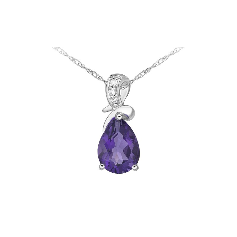 The  Collection Amethyst And Diamond