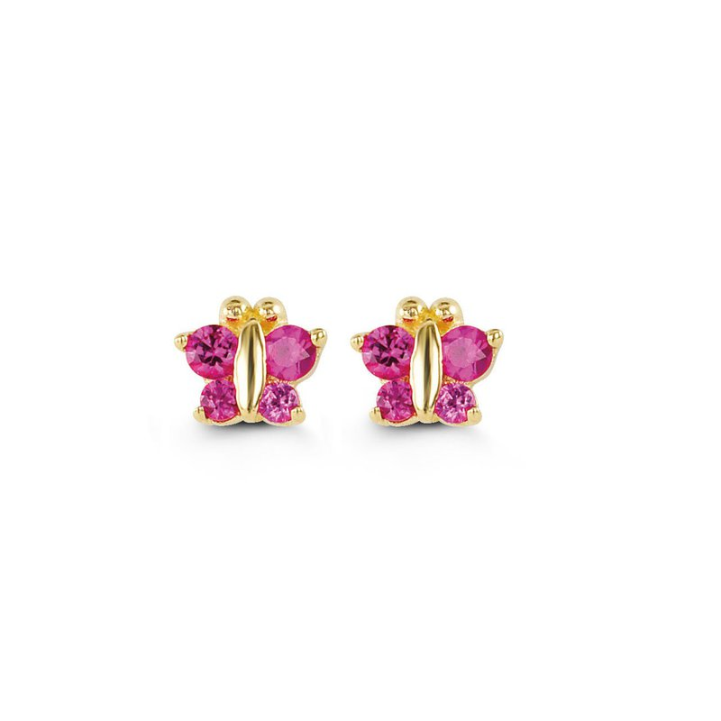 The  Collection Butterfly Baby Stud Earrings