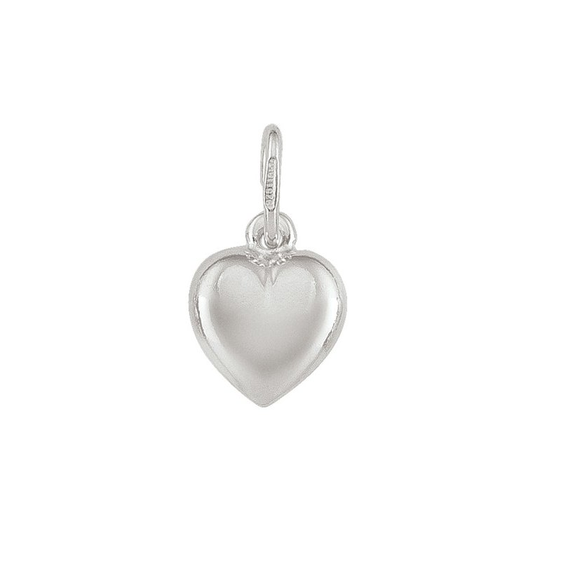 The Collection Puffed Heart Charm
