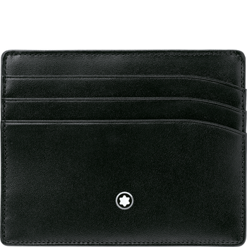 Montblanc Meisterstuck Black Leather 6CC Pocket Holder