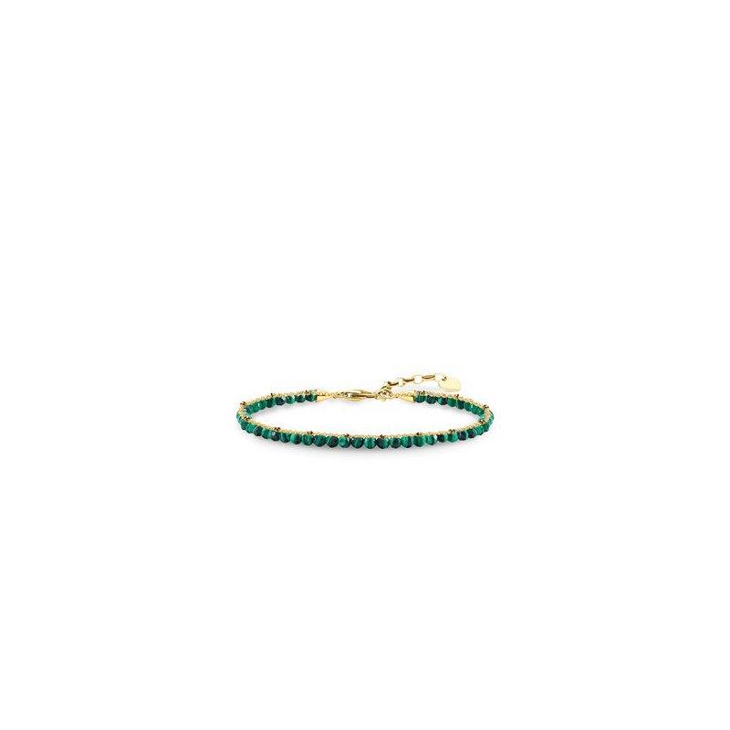 Thomas Sabo Bracelet With Green Stones